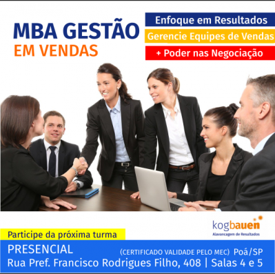 MBA em Gestão em Vendas